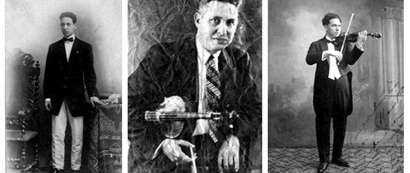 El violinista José Valls Cuenca