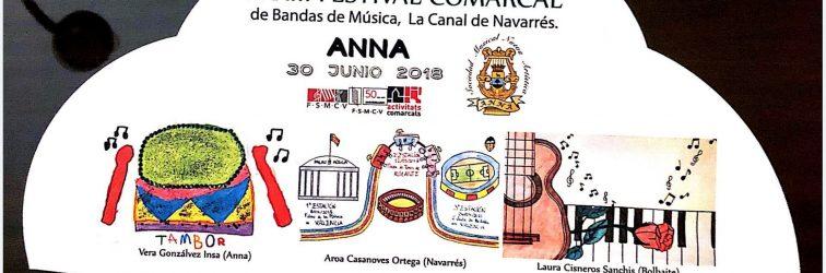 Festival comarcal de bandas, Anna  2018